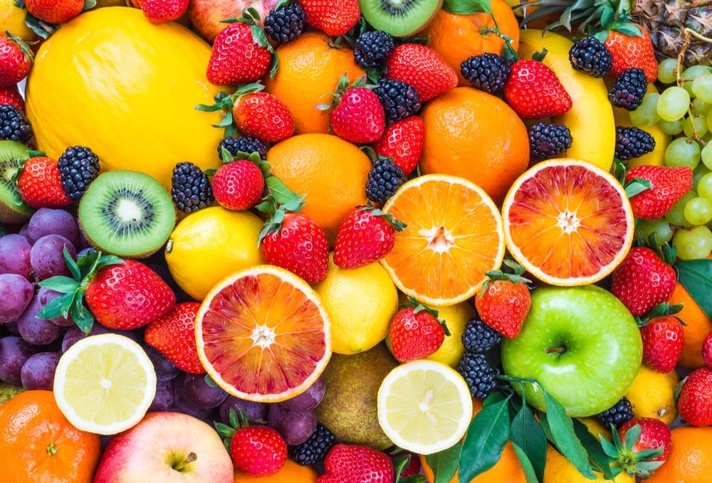 mix de frutas com economia e saúde