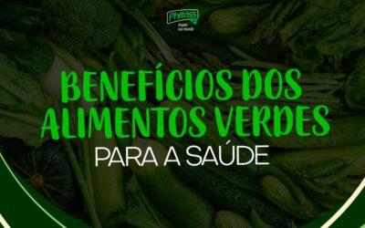 Benefícios dos alimentos verdes para a saúde